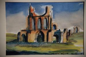 Byland Abbey - 2008